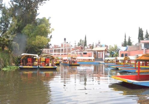 Paseando en Xochimilco