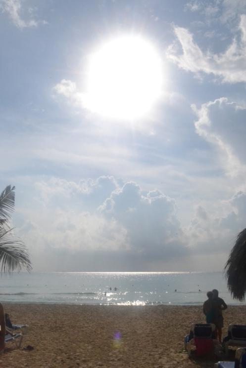 Sol en Playa del Carmen