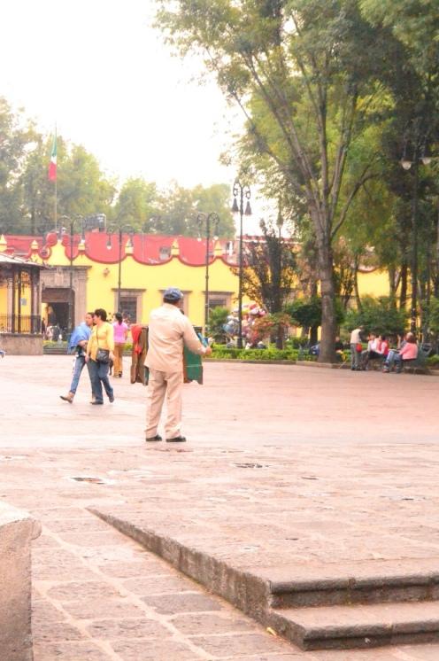 El organillero en Coyoacán