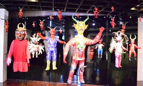 Diablos. Museo Artesanal Popular.