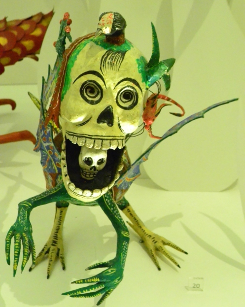 Alebrije de Pedro Linares, creador de los Alebrijes. Museo de Arte Popular