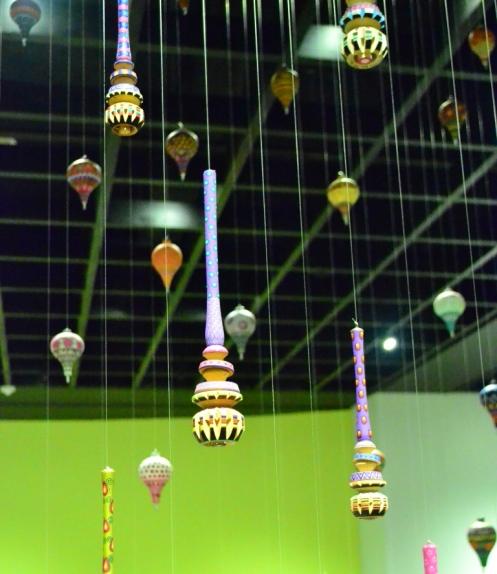 Trompos y Molinillos en el Museo en el Museo de Arte Popular