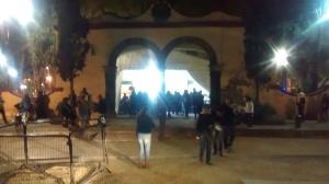 Entrada a Plaza Hidalgo