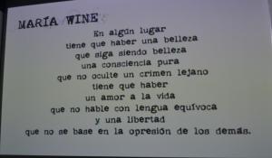 María Wine