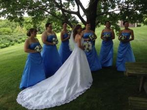 Damas con la novia