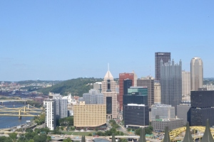 Vista desde Mt. Washington Pittsburgh