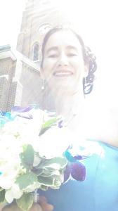 Una dama muy feliz :)