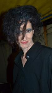 Mi disfraz de Robert Smith ;)
