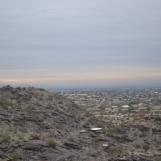 South Mountain Park. Mormon Trail. Phoenix, Arizona.