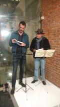 François Olislaeger y Jaime Moreno Villarreal. Lectura bilingüe de poesías surrealistas