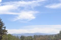 Vista desde Jardín Botánico de Teotihuacán