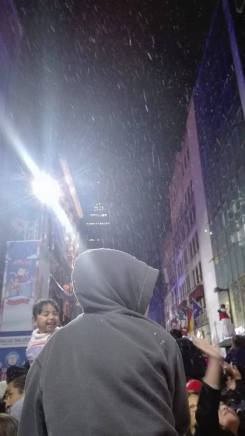 Nieve en la Calle Madero