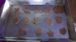 galletas de jengibre antes de meterlas al horno