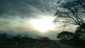 Último atardecer en Carretera, hacia México (3)