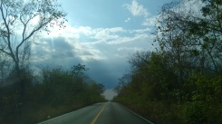 Viajando en silencio... Carretera Yucatán a Campeche