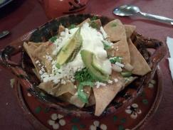 Chilaquiles Restaurante Real del Monte Mineral del Monte (Real del Monte) Hidalgo