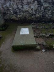 Tumba de Richard Bell Cementerio Inglés Real del Monte, Hidalgo