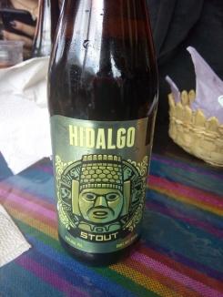 Hidalgo. Cerveza oscura, artesanal. Real del Monte, Hidalgo