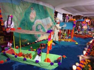 Ofrenda de Muertos en Coyoacán