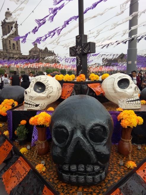 Ofrenda Zócalo Ciudad de México