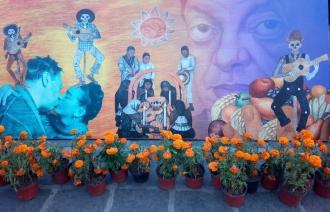 Megaofrenda UNAM Plaza Santo Domingo, Centro Histórico