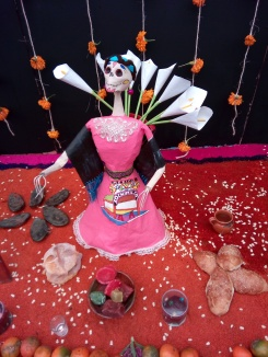 Ofrenda Día de Muertos Xochimilco