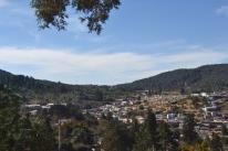 Visa Panorámica desde Panteón Inglés Real del Monte Hidalgo