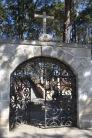 Entrada al Panteón Inglés Real del Monte Hidalgo